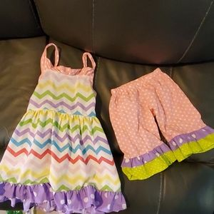 Other - Girl's 2 piece Boutique Set